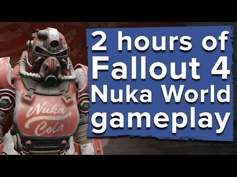 2 hours of Fallout 4 Nuka World DLC gameplay - Live stream