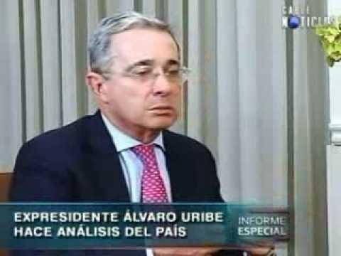 Álvaro Uribe Vélez habla sobre la destitución del alcalde Petro
