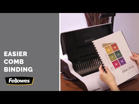 Fellowes® Binding Machines - How To Bind