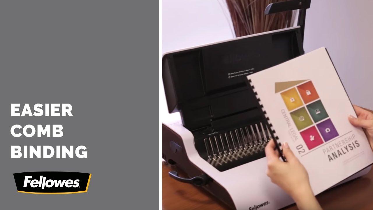 Basics of Comb Binding-Fellowes Binding Machines