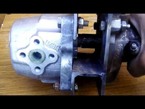 видео: Привод на НШ-10 для минитрактора.