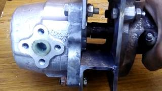 Привод на НШ-10 для минитрактора.