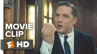 Legend Movie CLIP - Death Threats (2015) - Tom Hardy, Taron Egerton Movie HD