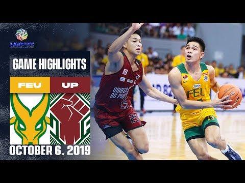FEU vs. UP - October 6, 2019 | Game Highlights | UAAP 82 MB