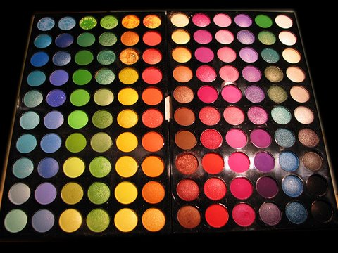 120 Color Palette - Inexpensive makeup!