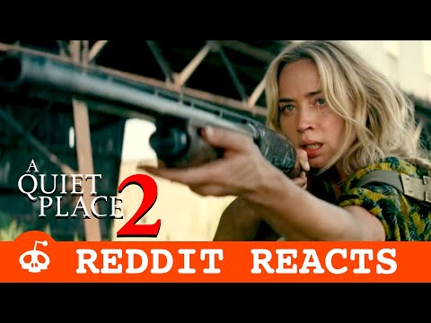 A QUIET PLACE PART 2 TRAILER | REDDIT REACTS