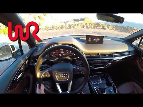 2017 Audi Q7 3.0T quattro - WR TV POV Canyon Drive
