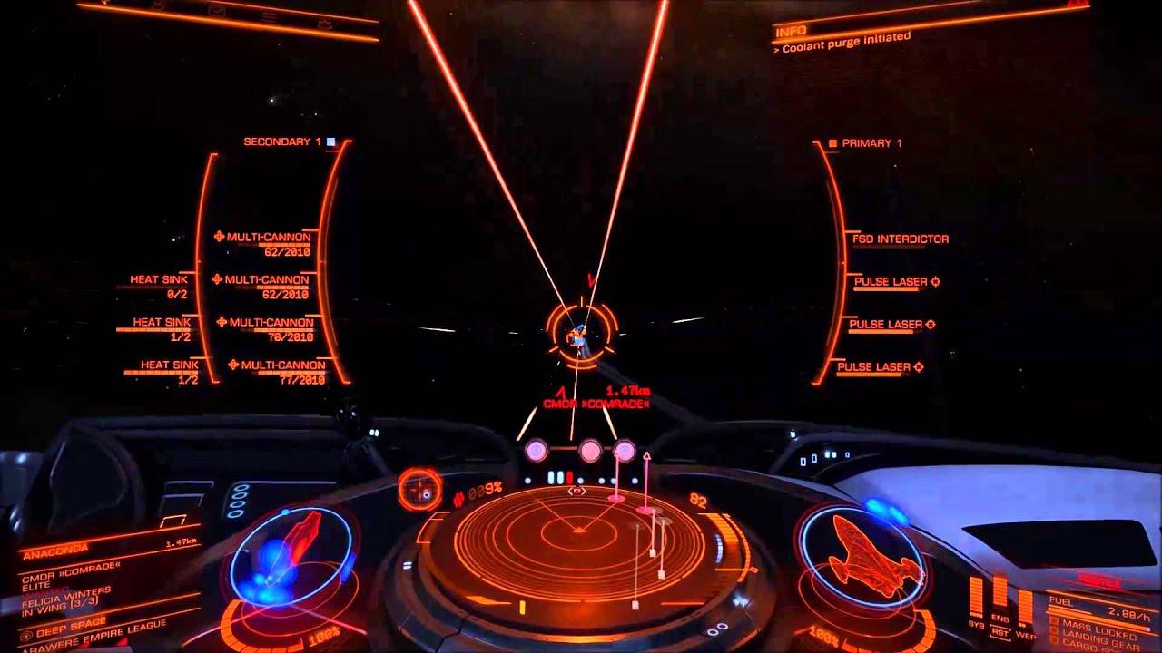 elite dangerous: imperial cutter vs wing(ferdelancex2,anaconda