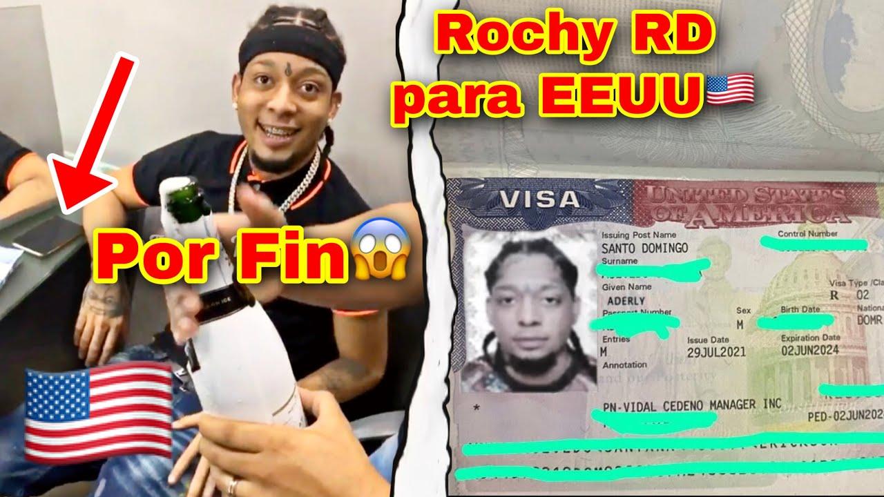 !DE ULTIMO MINUTO! ROCHY RD ES VISADO PARA ESTADOS UNIDOS (USA)