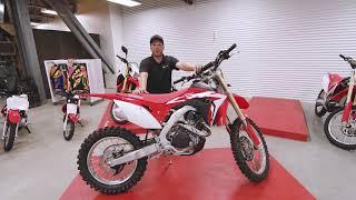 Honda CRF 450 RX 2018 | Présentation par Éric