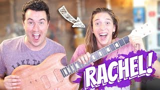 Rachel Ballinger Helps Me Build a Guitar