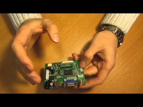 видео: Обзор Универсального скалера монитора vs-ty2662-v1 rtd2660/rtd2662 av hdmi vga  pcb800099 v.9