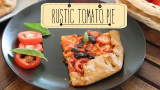 Rustic Tomato Pie | Easy To Make Brunch Recipe | Beat Batter Bake With Priyanka