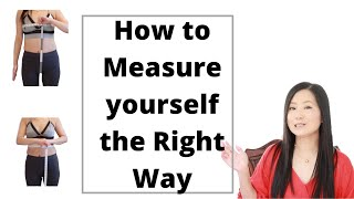 How to measure y๐ur waist, bust and hips (the right way)