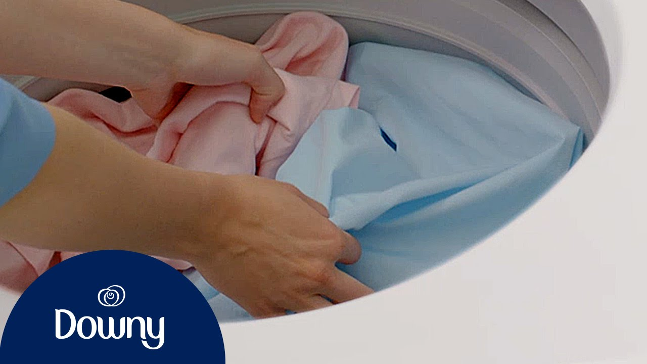 Top Laundry Tips For Clothes That Feel Greasy | Downy - YouTube