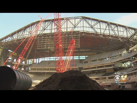 A Look Inside 85% Completed Globe Life Field