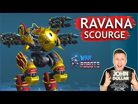 Боевые роботы - Ravana на Scourge! С Джоном Долларом!