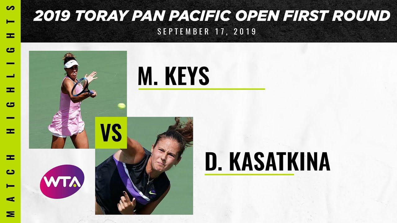 Madison Keys vs. Daria Kasatkina | 2019 Osaka First Round | WTA Highlights