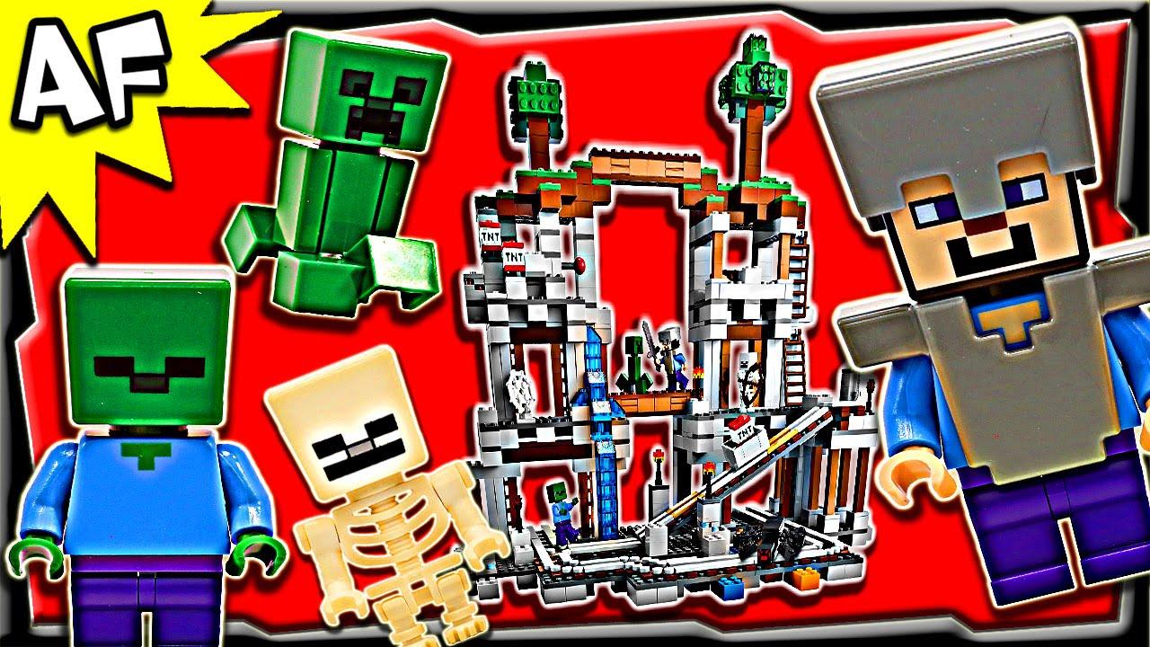 Lego Minecraft The MINE Stop Motion Build Review YouTube - Minecraft die grobten hauser