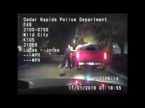 Dash cam: Jerime Mitchell traffic stop