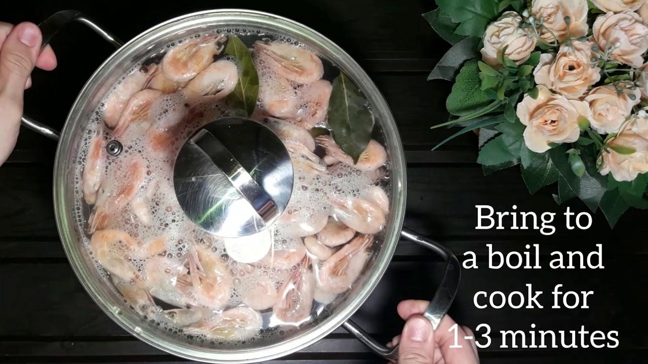 How to Boil Shrimp (Short Summary)