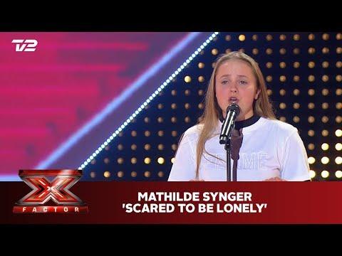Mathilde synger 'Scared to be Lonely' - Dua Lipa & Martin Garrix (5 Chair)   X Factor 2019   TV 2
