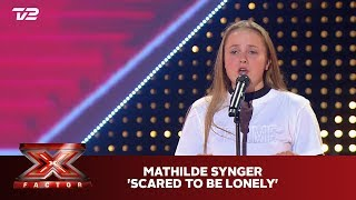 Mathilde synger 'Scared to be Lonely' - Dua Lipa & Martin Garrix (5 Chair) | X Factor 2019 | TV 2