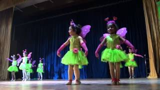 Bhartiya Vidya Mandir,  Annual Function , Kids Performing fairy Dance