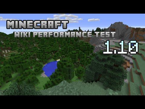 Minecraft 1.10 — Wiki Performance Test