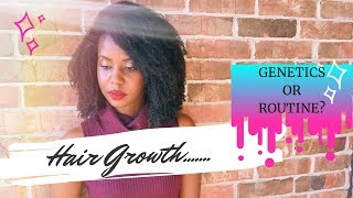 ❤ Hair Growth (Length)...Genetics or Routine? (Discussion) ❤