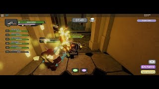 Roblox parte 23.1. Roblox Dungeon Quest, nuevo mapa, castillo del Rey. Juegos de TD.