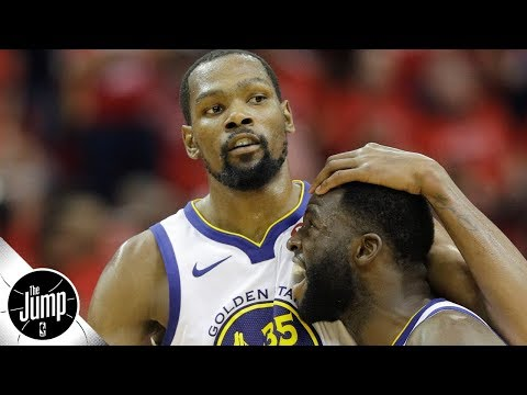 Will Durant & Draymond's on-court drama affect the Warriors?   The Jump