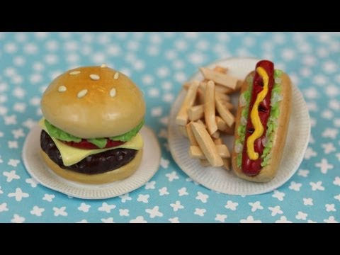 How to Make BBQ Polymer Clay Charms!