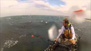 Capsized My Pro Angler 12 Cape Conran, Corey Knogg