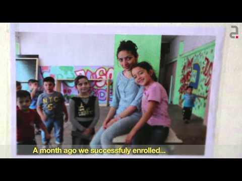Jusoor Refugee Education Program in Lebanon 2015