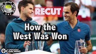 Federer/Thiem go to Miami Feeling GREAT   Coffee Break Tennis
