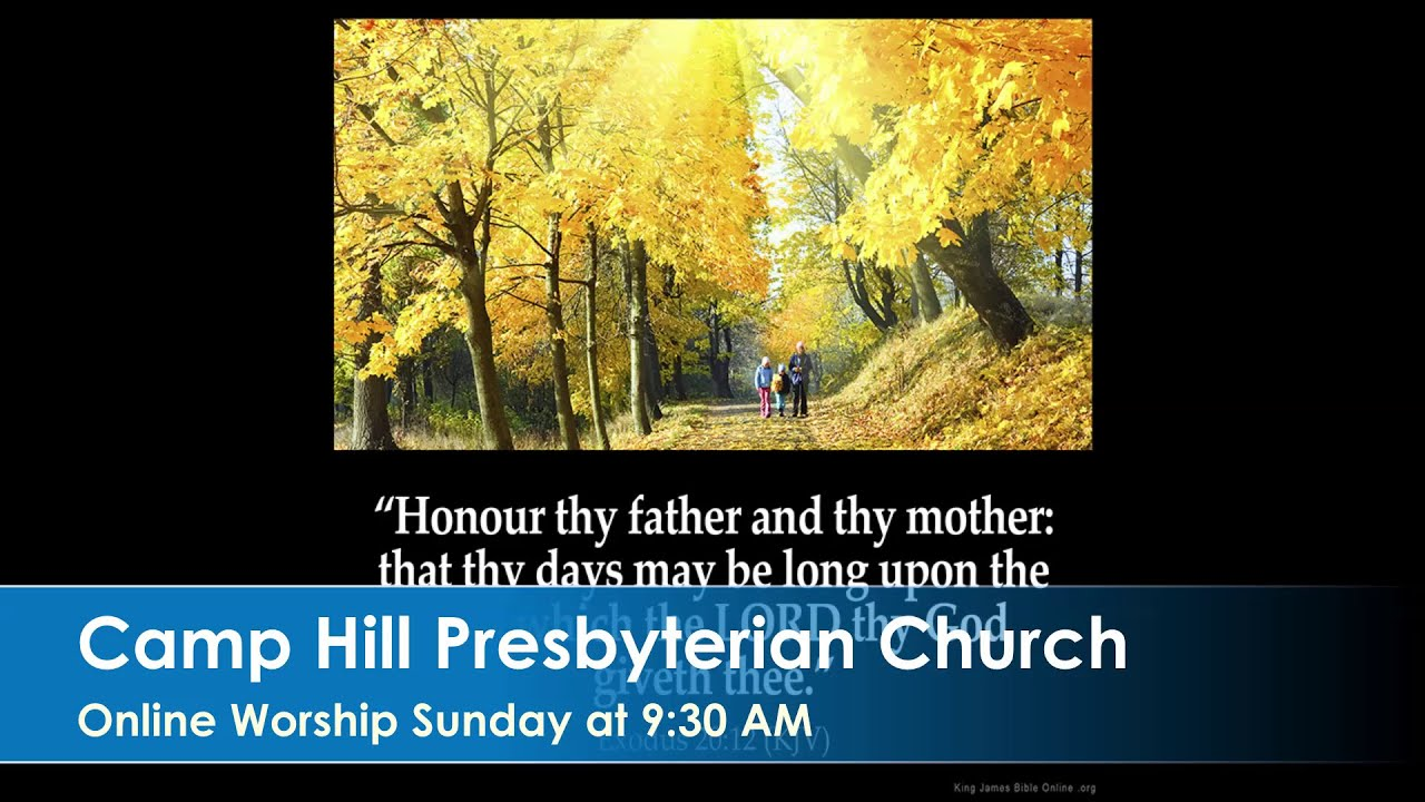 CHPC Worship 2020-06-28 – The 4th Sunday After Pentecost
