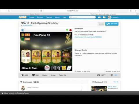 Gamingbygamingbroz Scratch Fifa pack opener