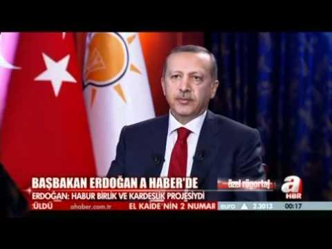"""BAŞBAKAN A HABER'E KONUŞTU - """"HABUR PROJESİ BDP TARAFINDAN PROVAKE EDİLDİ"""""""