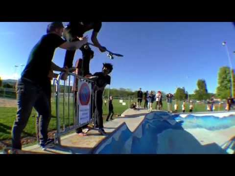 Gland SkatePark - Hazy Mind x Boarder's Park Contest 2015