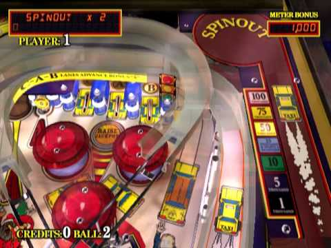 Pinball Hall of Fame: The Williams Collection (PS2 Gameplay)