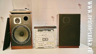 Обзор на музыкальный центр Toshiba Aurex 330