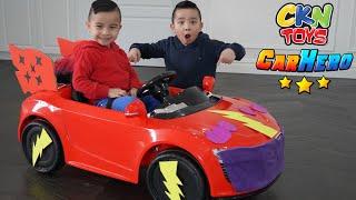 Building Our Own CKN Toys Car Hero Vehicle
