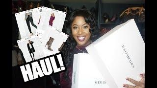I spent $227 on Justfab.com    Fashion Haul