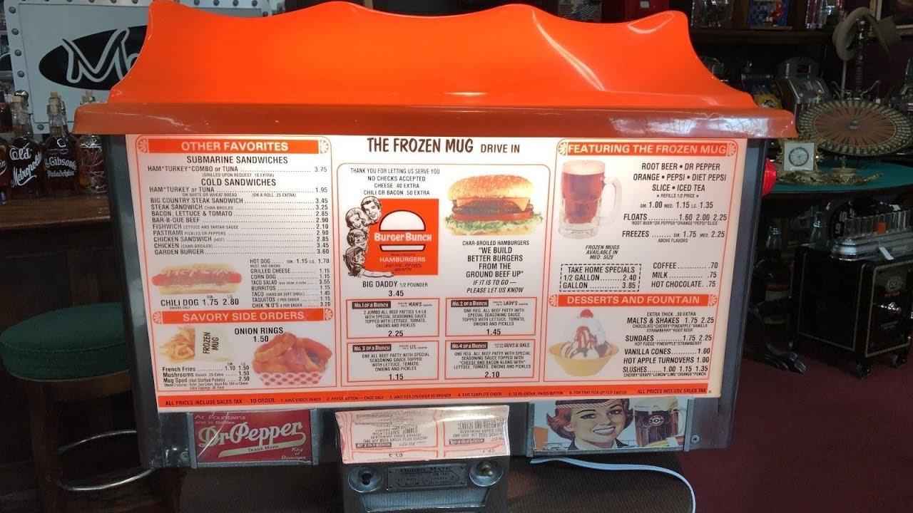 Aw menu