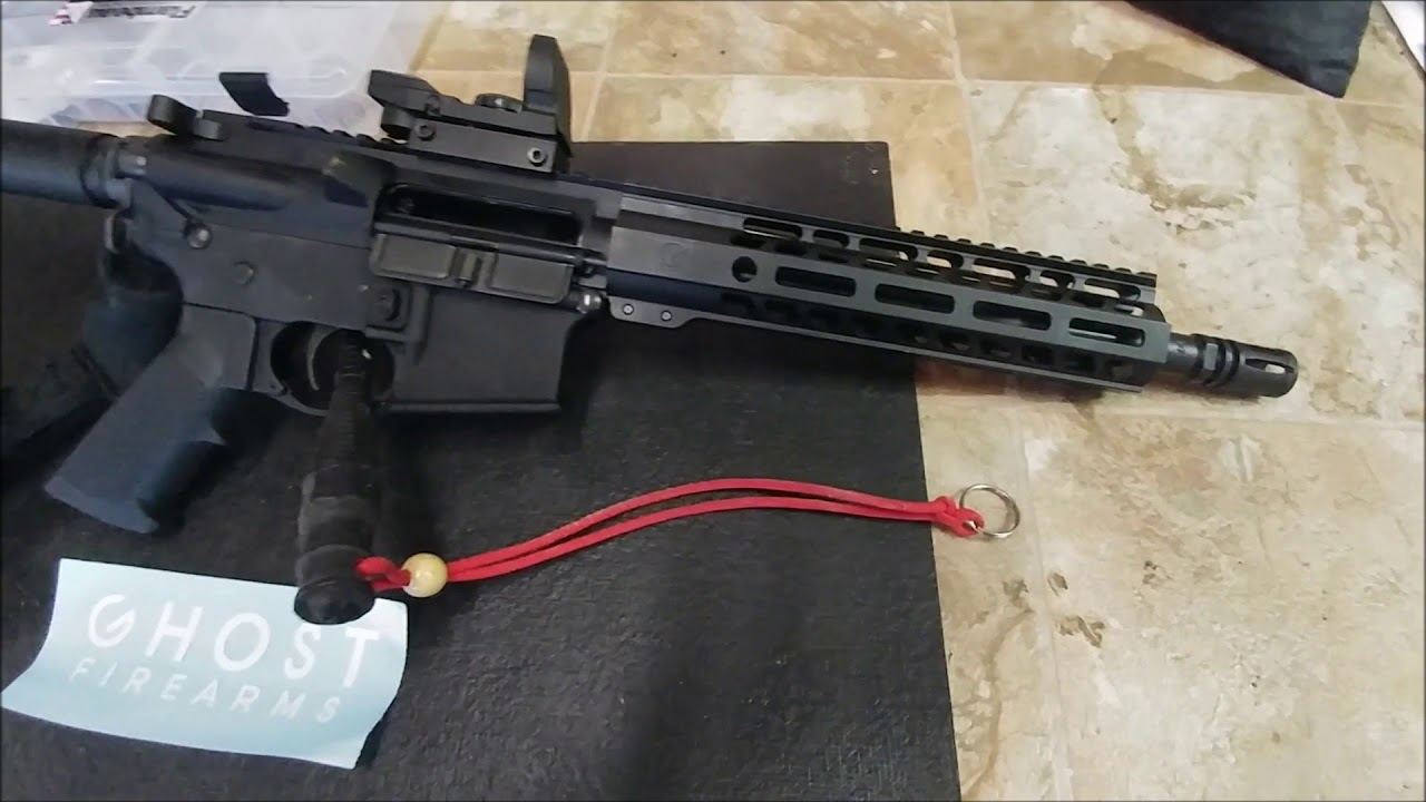 Ghost Vital 10 5 Pistol Kit  Thoughts After The Build & Shoot