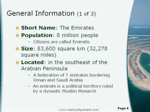 Uae Powerpoint Country Youtube