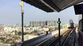 2020.1.1(水)8:37 バンコク地下鉄(MRT)パープルライン 【タオプーン駅】