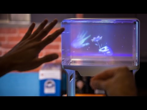 Hands-On with a Volumetric 3D Display!