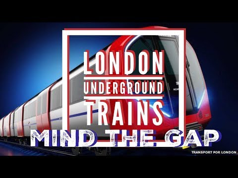 LONDON UNDERGROUND TRAINS   | VLOG#22